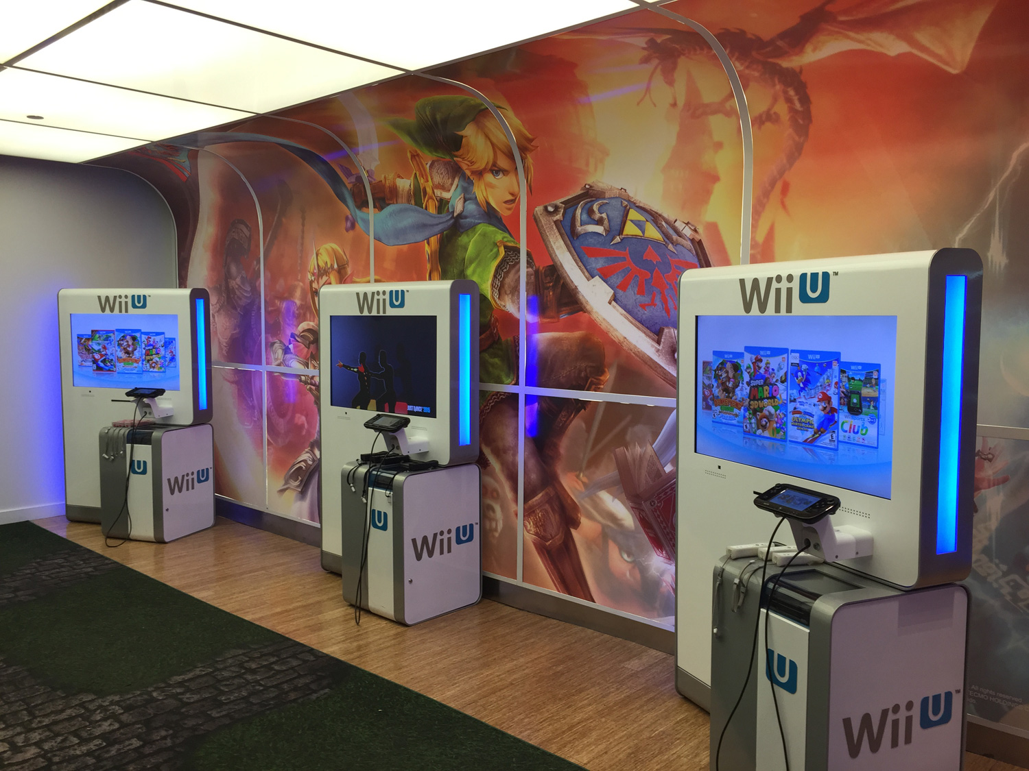 Wii U Games For Girls : Visiting the nintendo world store in new york city girls